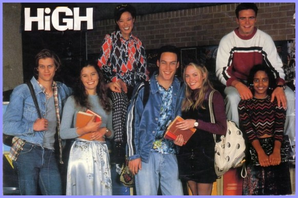 Serie australiana Los Rompecorazones HeartBreak High