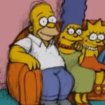 CABECERA DE BILL PLYMPTON EN LOS SIMPSONS