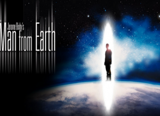 póster de la película man from earth