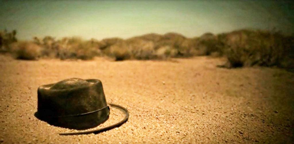 sombrero de heisenberg en la escena final