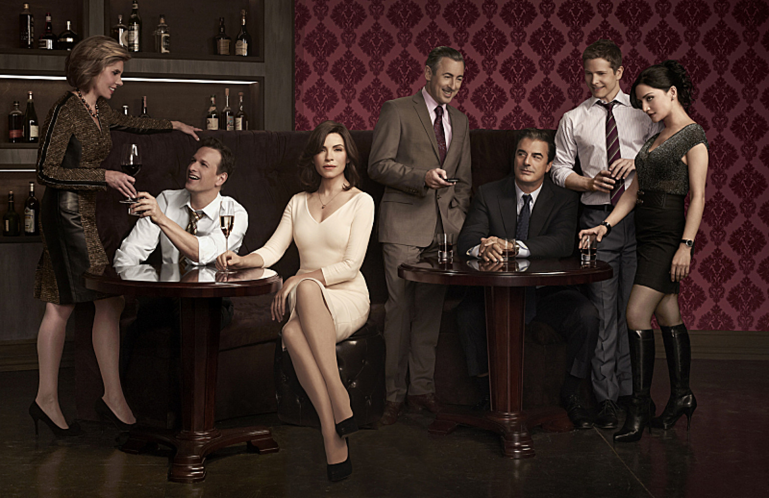 poster temporada 5 the good wife