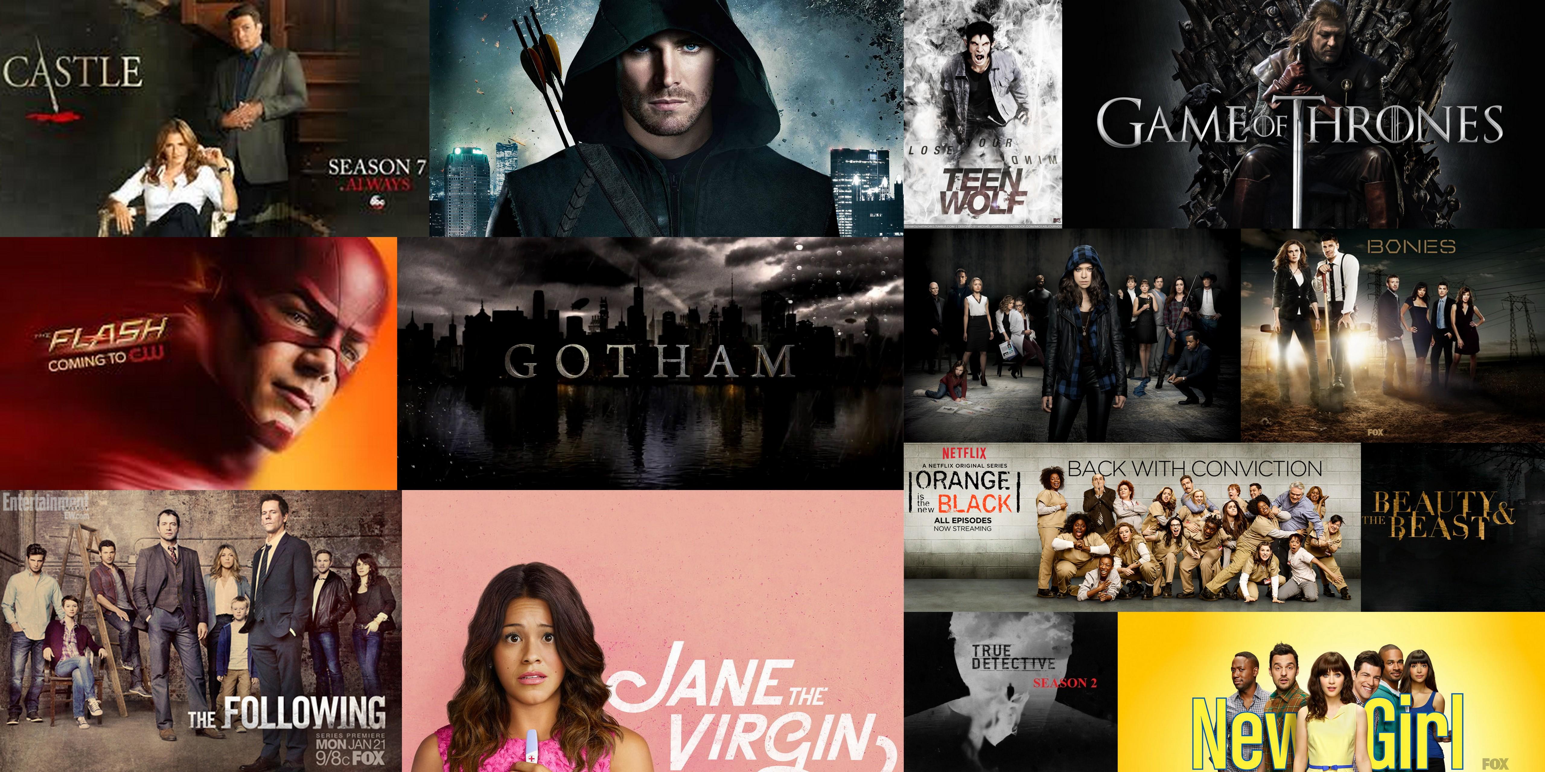 Series que terminan su temporada y series que comienzan la nueva.