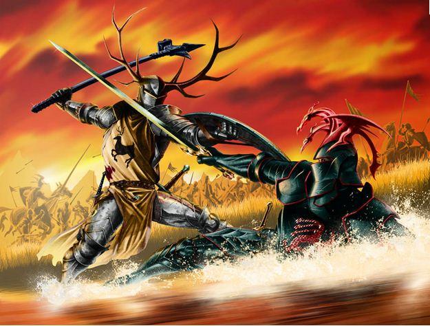 Combate Robert y Rhaegar