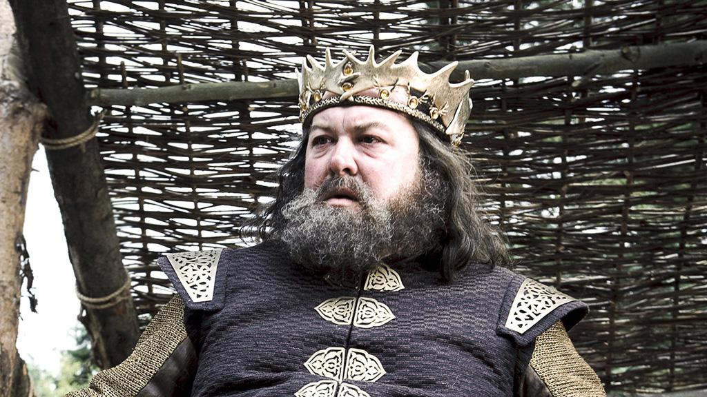 Robert Baratheon rey gordo