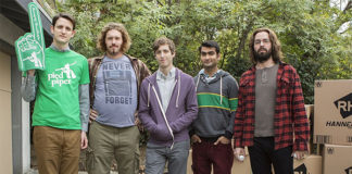 silicon valley Richard, Erlich, Gilfoyle, Dinesh y Jared