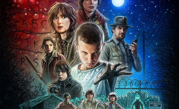 walpapper stranger things