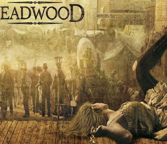 poster retro deadwood