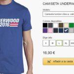 Camisetas chico de House of Cards