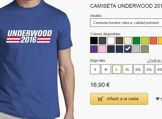 camiseta frank underwood