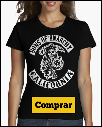 camiseta chica sons of anarchy