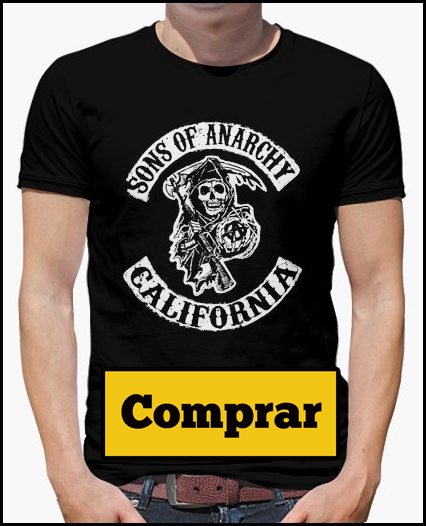 camiseta chico sons of anarchy