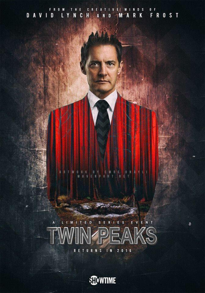 poster temporada 3 twin peaks