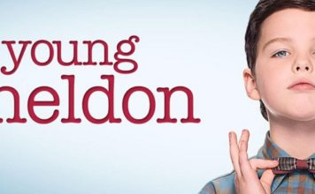 poster de la serie young sheldon