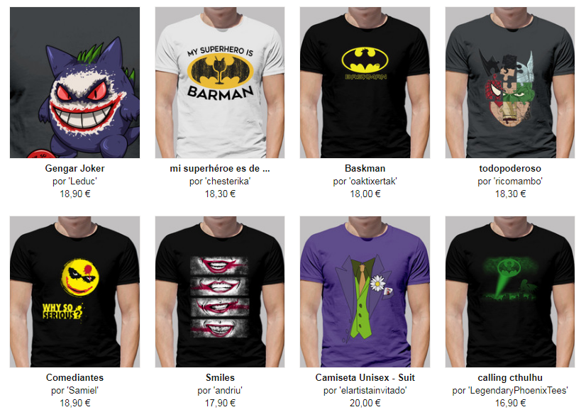 camisetas graciosas batman