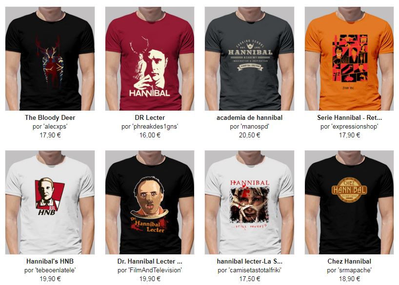 camisetas hanibal originales