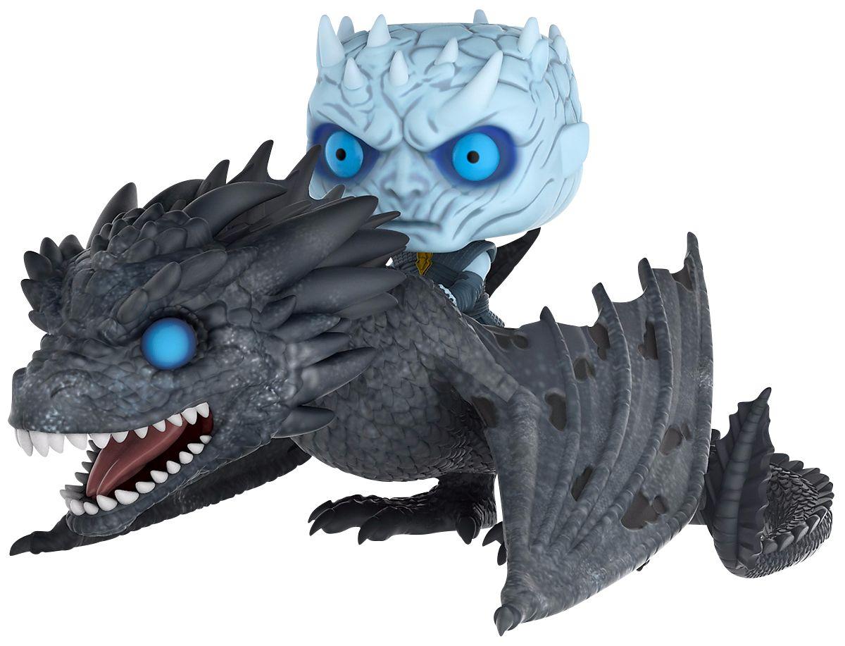 Funko Pop Rey de la noche y dragón viserion