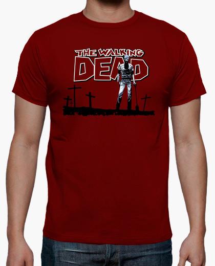 camiseta the walking dead comic portada