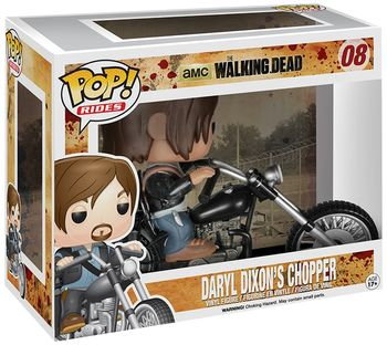 funko pop daryl con moto the walking dead