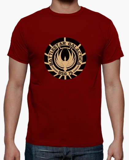 camiseta chico battlestar galactica