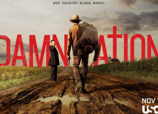 serie damnation poster