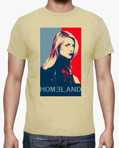 camiseta de la serie homeland con carrie para chico