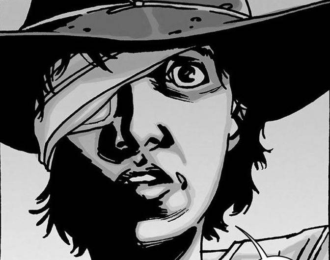 carl comic the walking dead