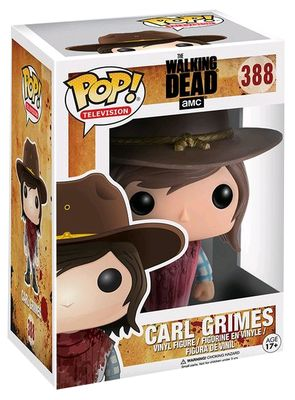 funko pop carl the walking dead