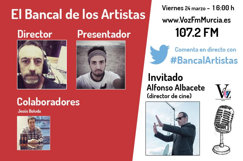entrevista Alfonso Albacete en El Bancal de los artistas