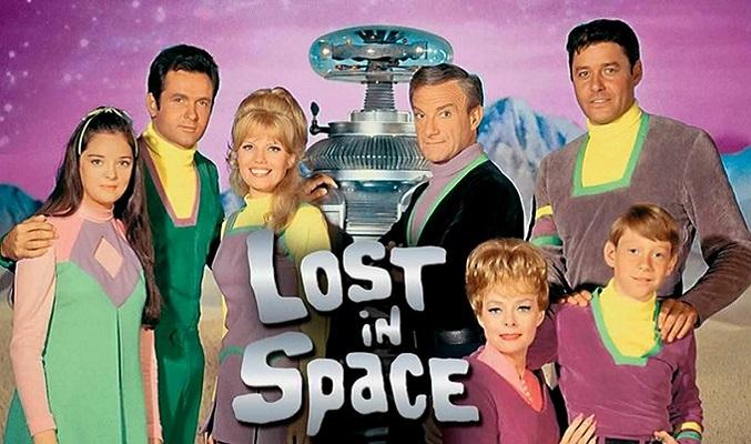 poster perdidos en el espacio antigua