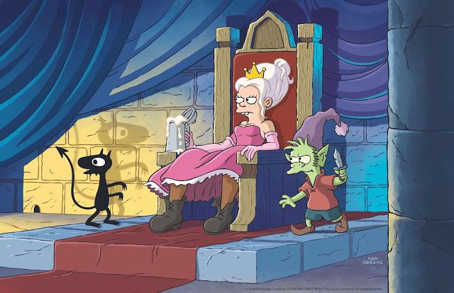 desencanto nueva serie de Matt Groening