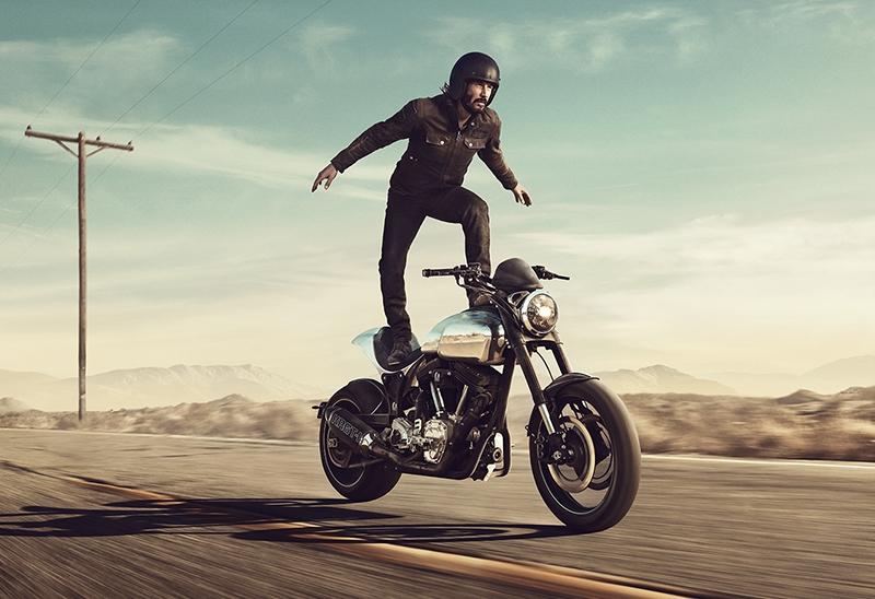 keanu reeves anuncio moto