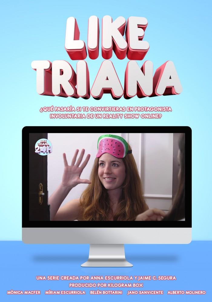 poster de la serie like triana
