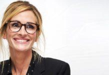 Julia Roberts con gafas