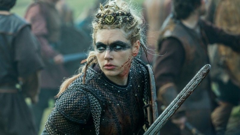 Lagertha guerrera Vikings