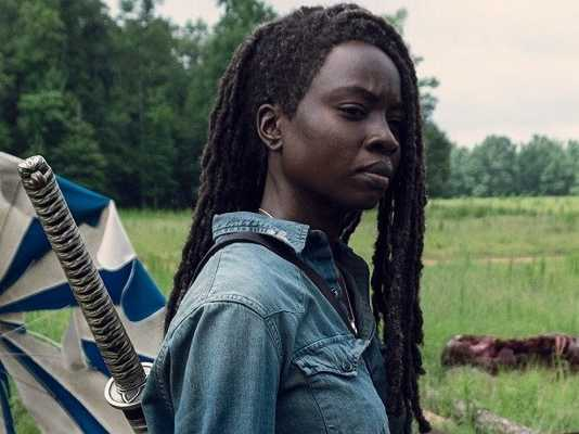 Michonne temporada 9 the walking dead