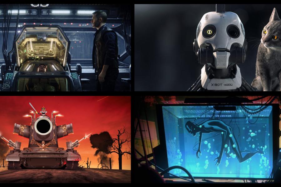 Serie Love, Sex & Robots de Netflix