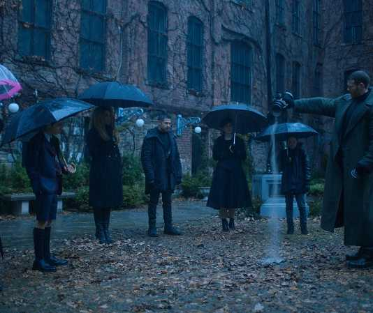 serie the umbrella academy netflix