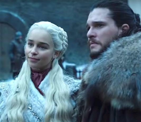 Jon Nieve y Daenerys temporada 8