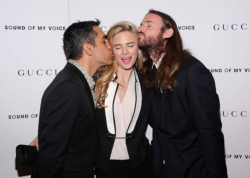 Brit Marling, Zal Batmanglij y Mike Cahill
