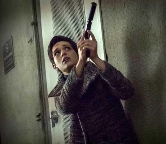 Sara Serraiocco en la serie Counterpart