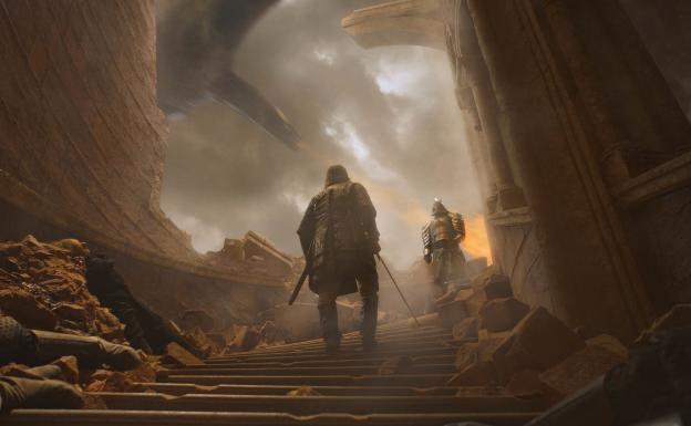 El Perro y la Montaña pelea final Juego de tronos