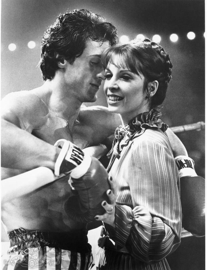 silvester stallone rocky chica