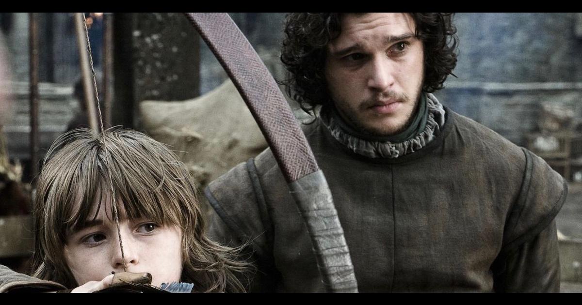 Jon nieve y bran