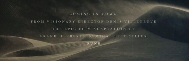 poster Dune 2020