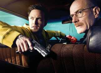 Walter y Jesse en coche