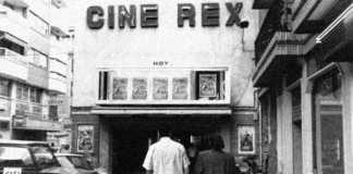 foto antigua cine rex de murcia