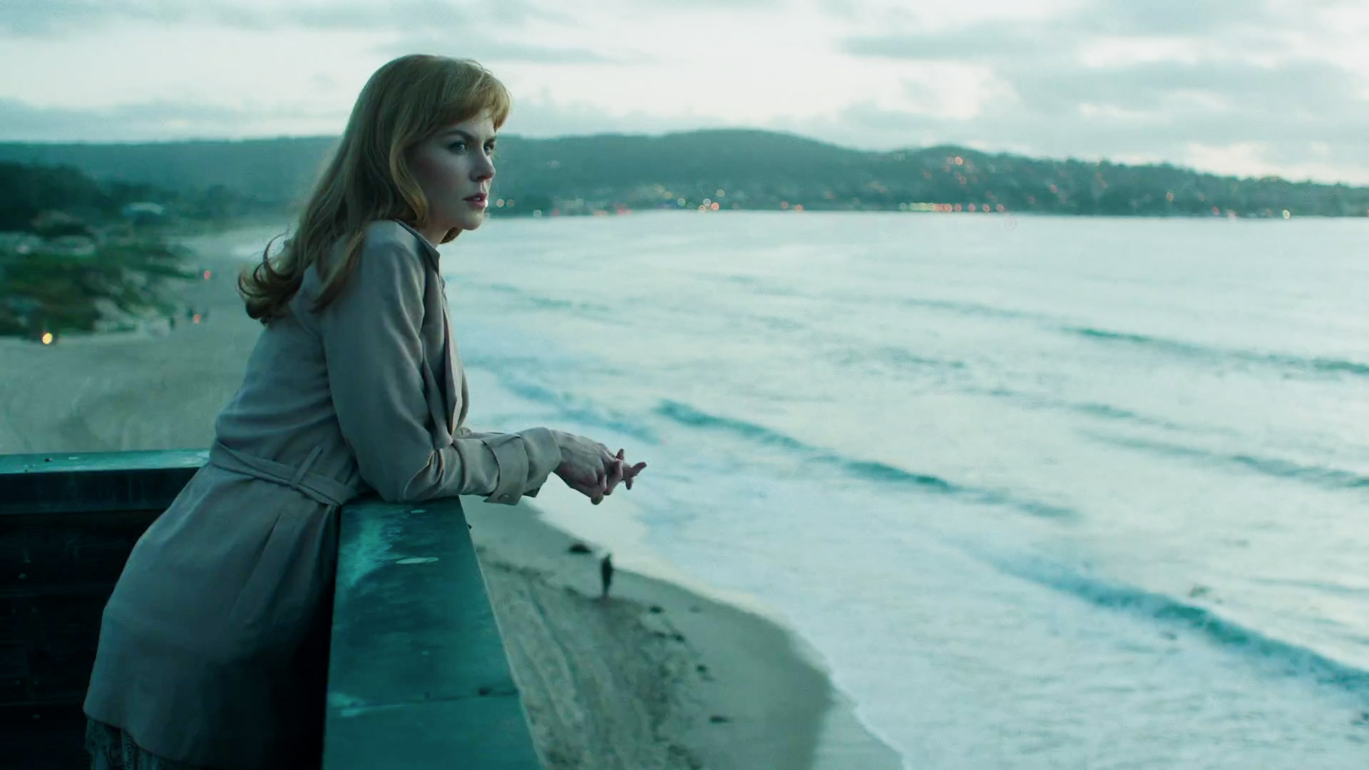 Big Little Lies Celeste mirando al mar
