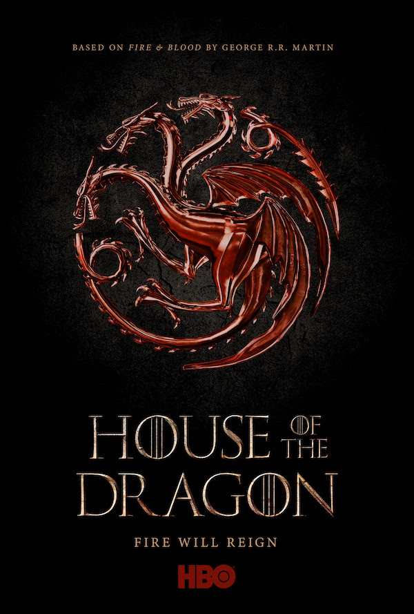 poster de la serie house of the dragon
