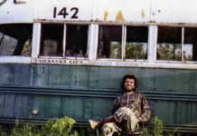 Autobús de hacia rutas salvajes