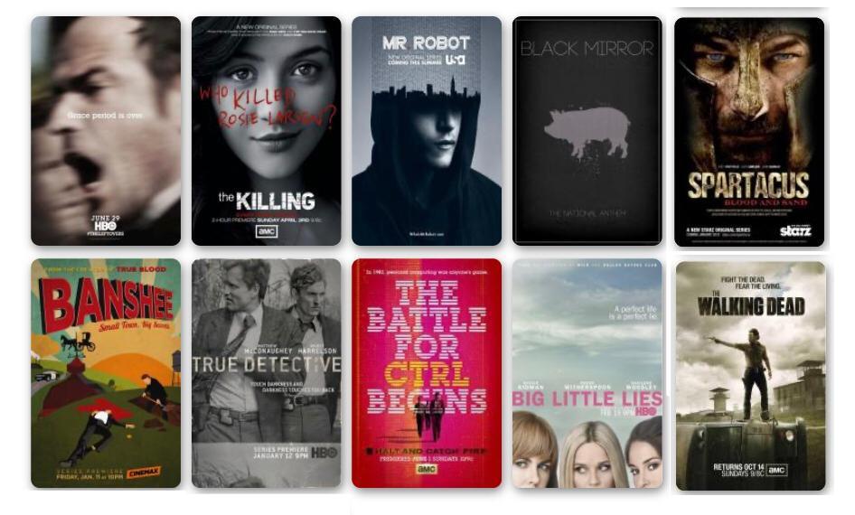 Mejores series de tv de la década